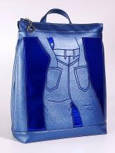 Фото товара: рюкзак 2103 синий-перламутр. Вид 1.