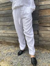 Фото товара: льняные брюки