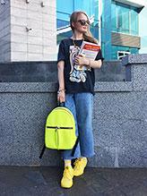 Фото товара: сумка MAN-004-3 желтый. Вид 0.