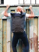 Фото товара: рюкзак TV-007-1 черный. Вид 1.