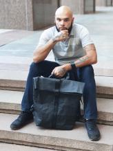 Фото товара: рюкзак TV-008-1 черный. Вид 1.