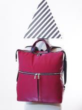 Фото товара: сумка-рюкзак MAN-005-4 бордо. Вид 1.