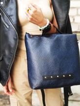 Фото товара: сумка MAN-013-2 синий. Вид 1.