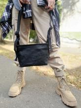 Фото товара: сумка через плечо TV-009-1 черный. Вид 1.