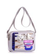 Фото товара: сумка через плечо 200043 светло-серый. Вид 1.