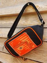 Фото товара: сумка на пояс 200262 черный. Вид 1.