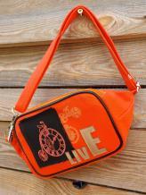 Фото товара: сумка на пояс 200263 оранжевый. Вид 1.