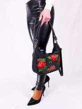 Фото товара: сумка через плечо 210071 черный. Вид 1.