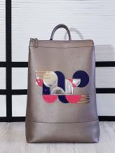 Фото товара: рюкзак 201304 бронза. Вид 1.