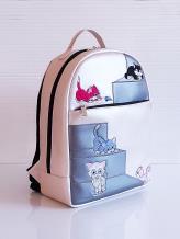 Фото товара: рюкзак 201355 жемчужный. Вид 1.