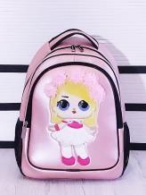 Фото товара: рюкзак 201701 розовый-перламутр. Вид 1.