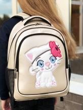 Фото товара: рюкзак 201702 жемчужный. Вид 4.