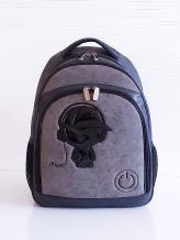 Фото товара: рюкзак 201712 черный. Вид 1.