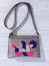 Фото товара: сумка через плечо 201314 бронза. Вид 1.