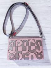 Фото товара: сумка через плечо 201315 бронза-розовый. Вид 1.