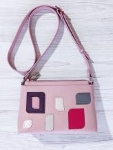 Фото товара: сумка через плечо 201316 розовый. Вид 1.