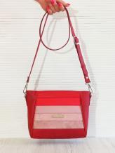 Фото товара: сумка через плечо 201343 красный. Вид 1.