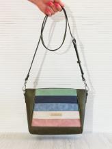 Фото товара: сумка через плечо 201344 хаки. Вид 1.