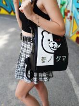 Молодежный модный рюкзак Monokuma alba soboni 211522 цвет черный. Фото - 1