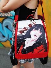 Рюкзак школьный аниме Безумный азарт alba soboni 211528 цвет красный. Фото - 1
