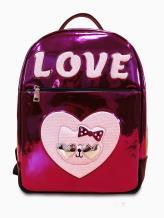Рюкзак школьный для девочки Хелло Китти Love alba soboni 211504 цвет розовый . Фото - 1