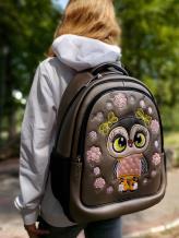 Фото товара: школьный рюкзак 211703 бронза. Фото - 1.