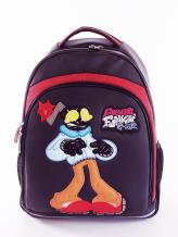 Фото товара: школьный рюкзак 211712 черный. Фото - 1.