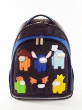 Фото товара: школьный рюкзак 211713 черный. Фото - 1.