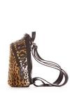 Міні-рюкзак 192921 леопардовий