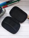 Стильный чехол для наушников для наушников смайл красный. Фото товара, вид 3