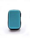 Молодежный чехол для наушников смайл голубой. Фото товара, вид 2