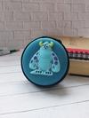 Модний чохол для навушників саливон блакитний. Фото товару, вид 1