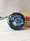 Молодежный чехол для наушников звёздная ночь черный. Фото товара, вид 1