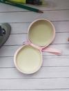 Молодіжний чохол для навушників єдиноріг з кульками круглий рожевий. Фото товару, вид 2