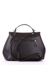 Летняя сумка, модель 190001 черный. Фото товара, вид сзади.