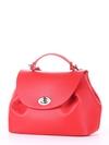 Модная сумка, модель 190003 красный. Фото товара, вид сбоку.