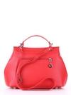Модная сумка, модель 190003 красный. Фото товара, вид сзади.