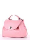 Модная сумка, модель 190009 пудрово-розовый. Фото товара, вид сбоку.