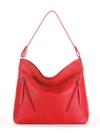 Летняя сумка, модель 190013 красный. Фото товара, вид спереди.