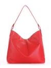 Летняя сумка, модель 190013 красный. Фото товара, вид сзади.