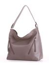 Летняя сумка, модель 190014 темно-серый. Фото товара, вид сбоку.