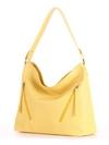 Летняя сумка, модель 190018 желтый. Фото товара, вид сбоку.