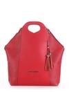 Літня сумка, модель 190032 червоний. Фото товару, вид спереду.