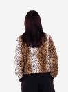 alba soboni. Жіночий бомбер 201-010-00 леопардовий. Вид 3.