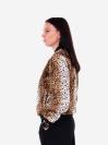 alba soboni. Жіночий бомбер 201-010-00 леопардовий. Вид 4.